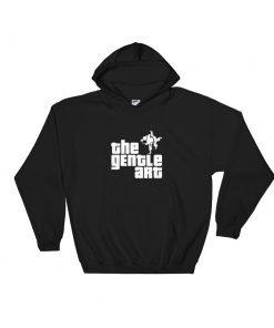 Gentle Art Hoodie Black