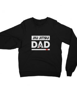 Jiu Jitsu Dad Sweatshirt Black