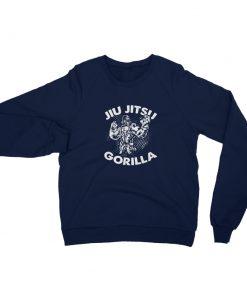 Jiu Jitsu Gorilla Sweatshirt Navy