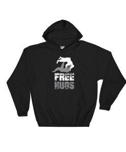 Free Hugs Hoodie Black