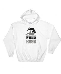 Free Hugs Hoodie White