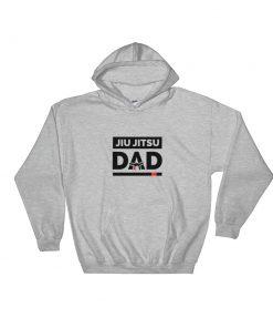 Jiu Jitsu Dad Hoodie Sport Grey