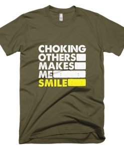 Choking Others T-Shirt Army