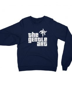 Gentle Art Sweatshirt Navy