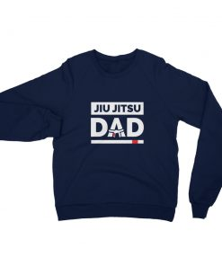 Jiu Jitsu Dad Sweatshirt Navy