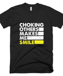 Choking Others T-Shirt Black
