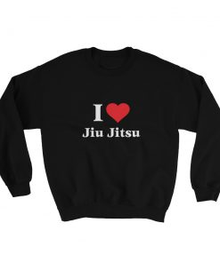 Love Jiu Jitsu Sweatshirt Black