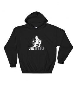 Jiu Jitsu Sensei Hoodie Black
