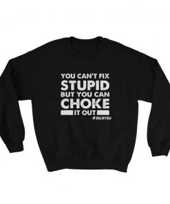 Choke It Out Sweatshirt Black