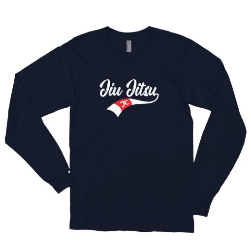 Jiu Jitsu X Factor Long Sleeve Shirt Navy