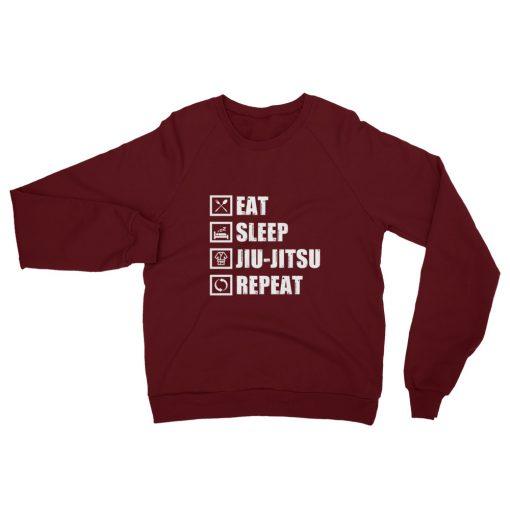 Eat Sleep Jiu Jitsu Fleece Sweatshirt 3