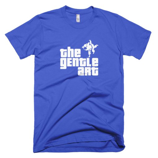 Gentle Art T-Shirt Royal Blue