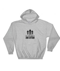 All I Care About Hoodie Sport Grey