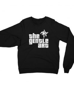 Gentle Art Sweatshirt Black