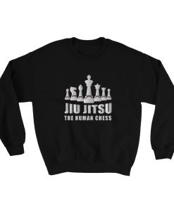 Human Chess Sweatshirt Black
