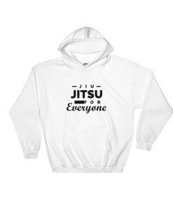 Jiu Jitsu for Everyone Hoodie White