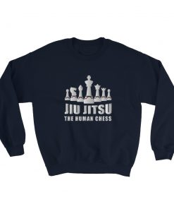 Human Chess Sweatshirt Navy