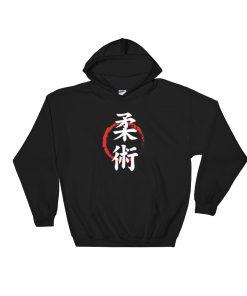 Jiu Jitsu Symbol Hoodie Black