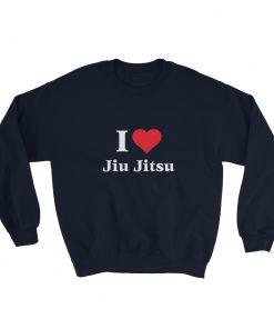 Love Jiu Jitsu Sweatshirt Navy