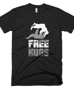 Free Hugs T-Shirt Black