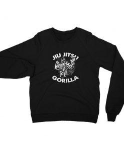 Jiu Jitsu Gorilla Sweatshirt Black