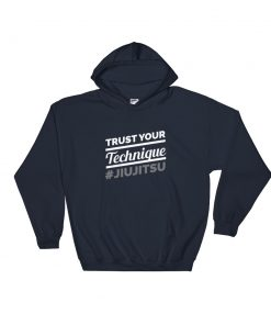 Trust your Technique Hoodie Navy