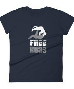 Free Hugs Women's T-Shirt Navy