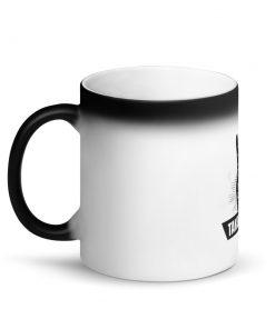 Takedown Matte Black Magic Mug Left