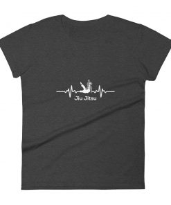 Jiu Jitsu Heart Beat Women's T-Shirt 2