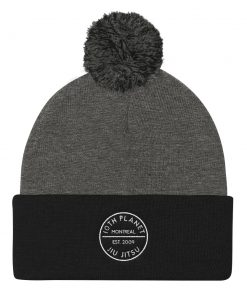 10th Planet Montreal Beanie Black and Grey