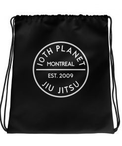 10th Planet Montreal Drawstring Bag
