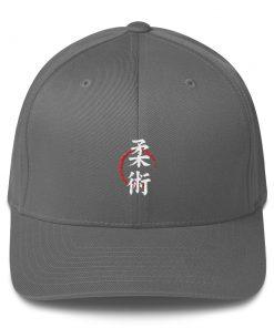 Jiu Jitsu Symbol Cap Grey