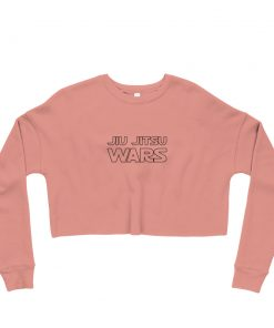 Jiu Jitsu Wars Women's Cropped Sweatshirt Mauve