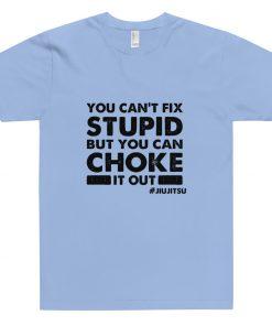 Choke It Out T-Shirt Light Blue