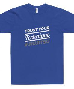 Trust Your Technique T-Shirt Blue