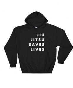 Jiu Jitsu Saves Lives Hoodie Black 2