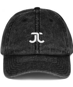 JJXF Vintage Cap Black