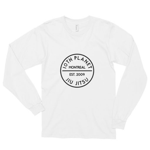 10th Planet Montreal Long Sleeve Shirt White