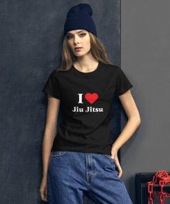 Love Jiu Jitsu Women's T-Shirt Mockup