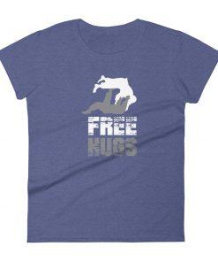 Free Hugs Women's T-Shirt Purple