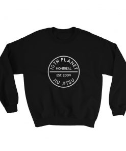 10th Planet Montreal Sweatshirt Black