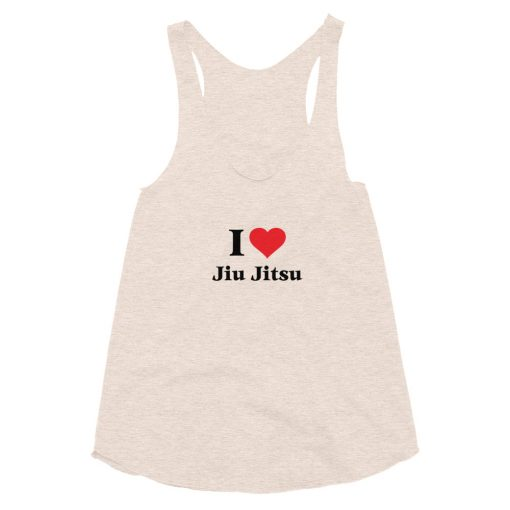 Love Jiu Jitsu Women's Tank Top Tri-Oatmeal