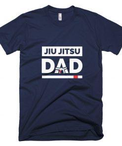 Jiu Jitsu Dad T-Shirt Navy