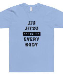 Jiu Jitsu VS Everybody T-Shirt Light Blue