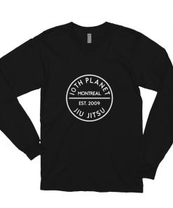 10th Planet Montreal Long Sleeve Shirt Black