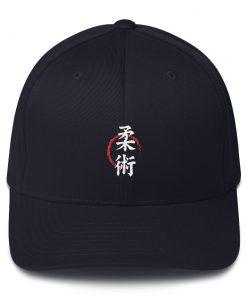 Jiu Jitsu Symbol Cap Navy