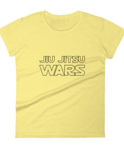 Yellow Jiu Jitsu Wars Women's T-Shirt Front