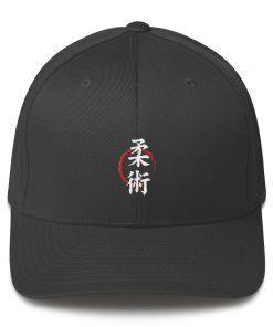Jiu Jitsu Symbol Cap Dark Grey
