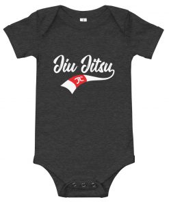 Jiu Jitsu X Factor Baby Onesie Dark Grey Heather