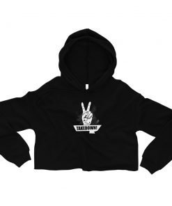 Takedown Women's Cropped Hoodie Black